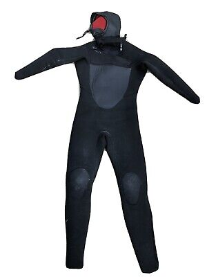 Mens Xcel Drylock Hooded Wetsuit 6/5, Size Large, Good Condition