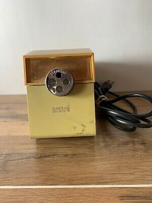 Vintage MCM BOSTON Model 41 Commercial Electric Pencil Sharpener