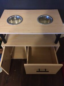 Elevated Dog Bowl cabinet