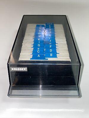 Rolodex Model Vip 24c Vintage Business Cardphone Address File