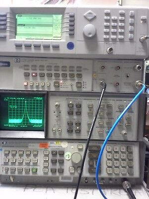 Hp 8566b Spectrum Analyzer Measuring Unit. Working 100hz To 22 Ghz