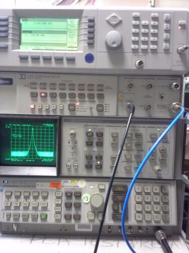 HP 8566B Spectrum Analyzer Measuring Unit. WORKING!  100Hz to 22 GHz