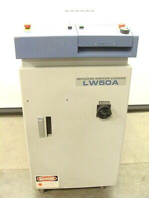 Unitek Miyachi Amada Lw50a Compact Yag Fiber Laser Welder Ndyag 50w 1064nm