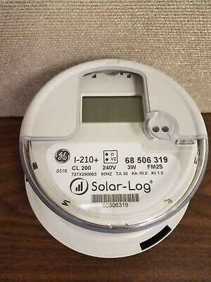 Ge I-210 Digital Watthour Electric Meter 240v Lot Of 120 Nib Free Shipping