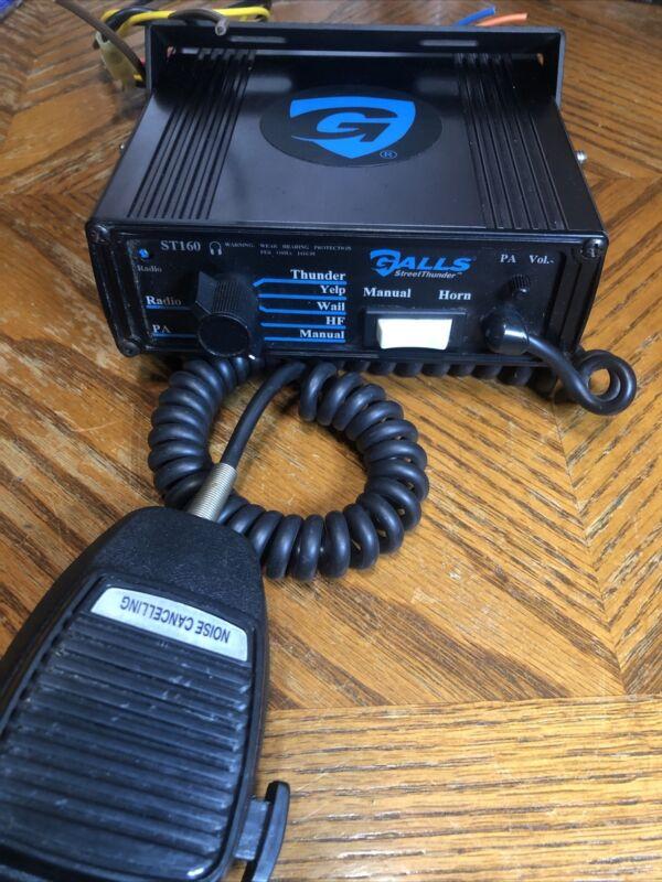 Galls ST160 Street Thunder  Siren Control System