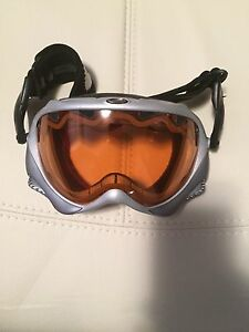 Oakley ski and snowboarding goggles