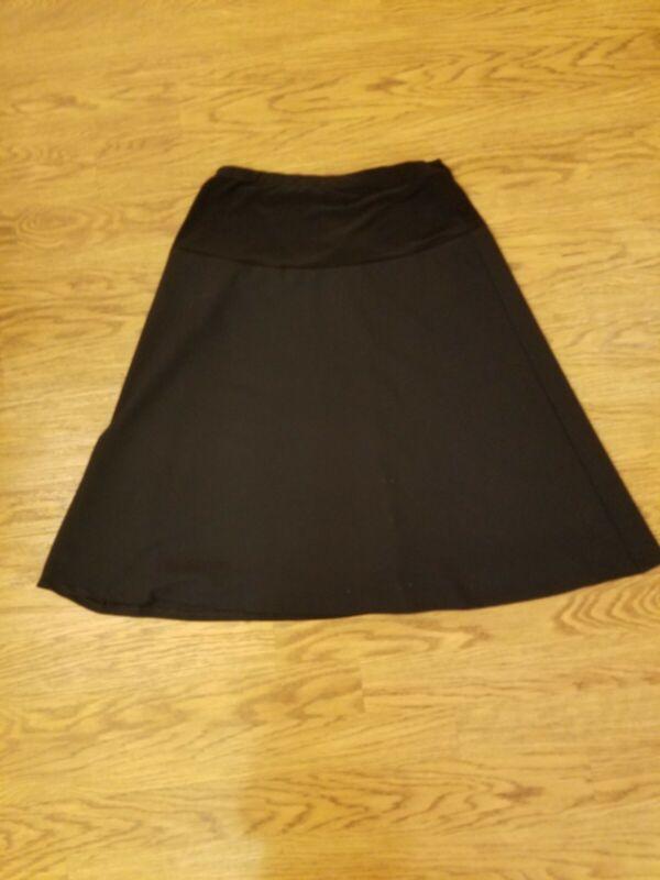 New black Maternity Skirt, size large