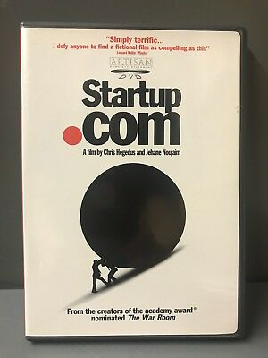 Startup Com  Dvd  2001 Disc Is Brand Spanking New But Now Wrapped Region 1