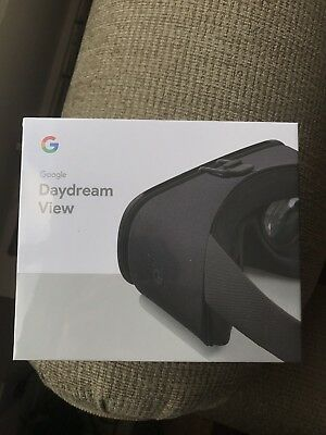 Brand New Sealed Google Daydream View VR 2017 Model In Charcoal!!  US Seller!!!
