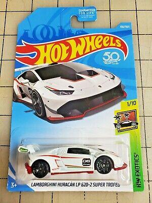 Hot Wheels Lamborghini Huracan LP 620-2 Super Trofeo White HW Exotics