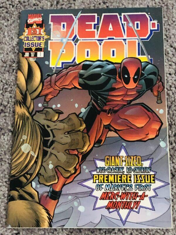Deadpool #1 (1997) - 1st Appearance of BLIND AL!!!!