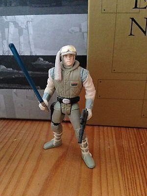 STAR WARS Luke Skywalker Hoth Outfit Action Figur POTF2 1995-2000 VINTAGE