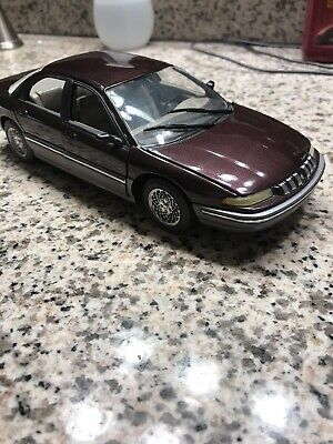 Chrysler Concorde 1993 Promo Model Diecast Metal Construction With Display Case