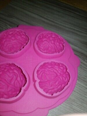 Brain Shots Halloween (Brain Freeze. Silicone Ice Cube. Jello-shot. Freeze Mould shaping Tray. )