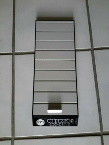 Citizen Eco-Drive Watch Store Display Shelf Swarovski
