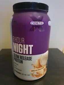 1KG Slow Release Casein Protein (Genetix Brand) [RRP %50]