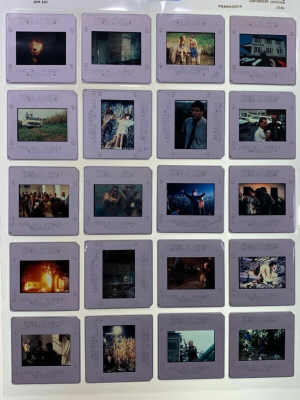 20 Children of the Corn II Horror Movie 35mm Slides 1992 Promo Vintage Lot #2
