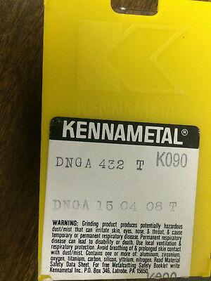 01636 Kennametal DNGA 432  Insert Grade KC9010