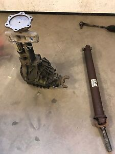 Chevy/GMC Front diff and driveshaft
