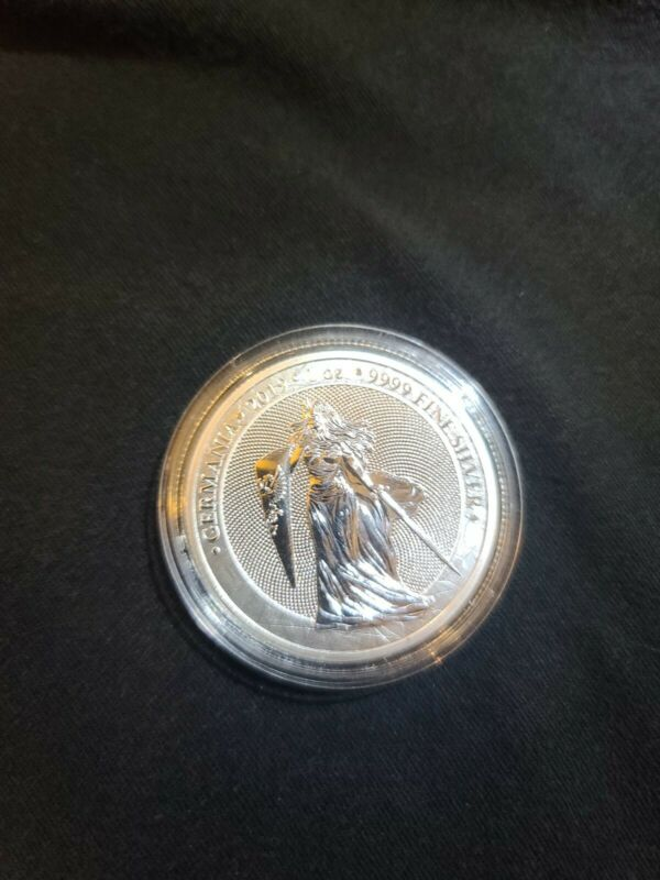 2019 Germania 5 Mark 1 Oz Silve 25K minted first in series INVEST