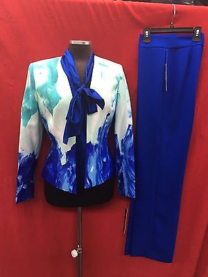 TAHARI BY ARTHUR LEVINE PANT SUIT/SIZE10/RETAIL$280/BLOUSE NOT INCLUDED/INSEAM32