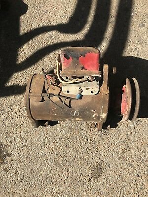 Farmall Ih M Mv Early Sm Tractor Generator W Belt Pulley