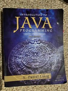 Introduction to Java (10th edition)