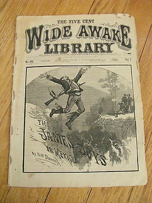THE JAMES BOYS WIDE AWAKE LIBRARY 1882 PUBL FRANK TOUSEY