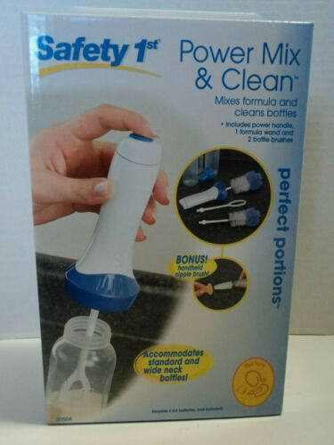 Safety 1st Power Mix & Clean Mixes Formula And Cleans Bottles, Fast, Free Ship