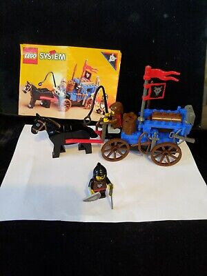 VTG LEGO #6038 Wolfpack Renegades Castle with Instructions missing 4 pieces