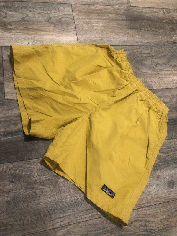 Patagonia Jogging Running Hiking Shorts Women's Small New Condition Yellow