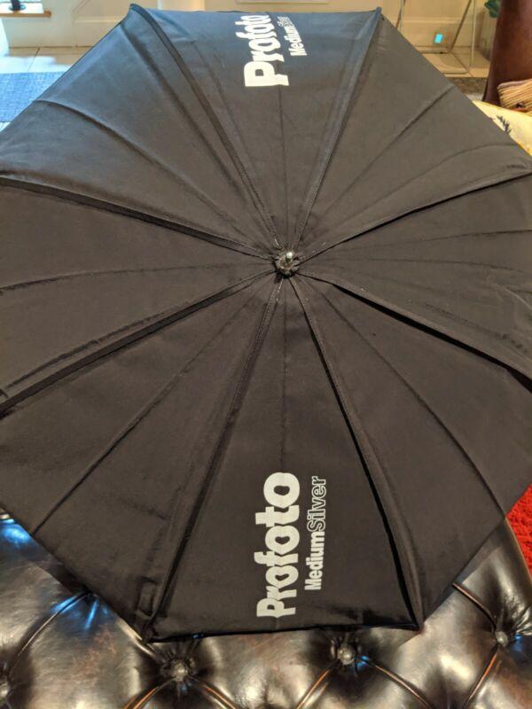 Profoto Photography Silver Studio Umbrella Medium Size #100616