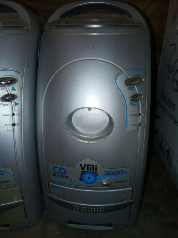 Venmill VMI 3500a Deep Buff Disc Machine Fixes CDs/Dvds.  NOT WORKING/FOR PARTS