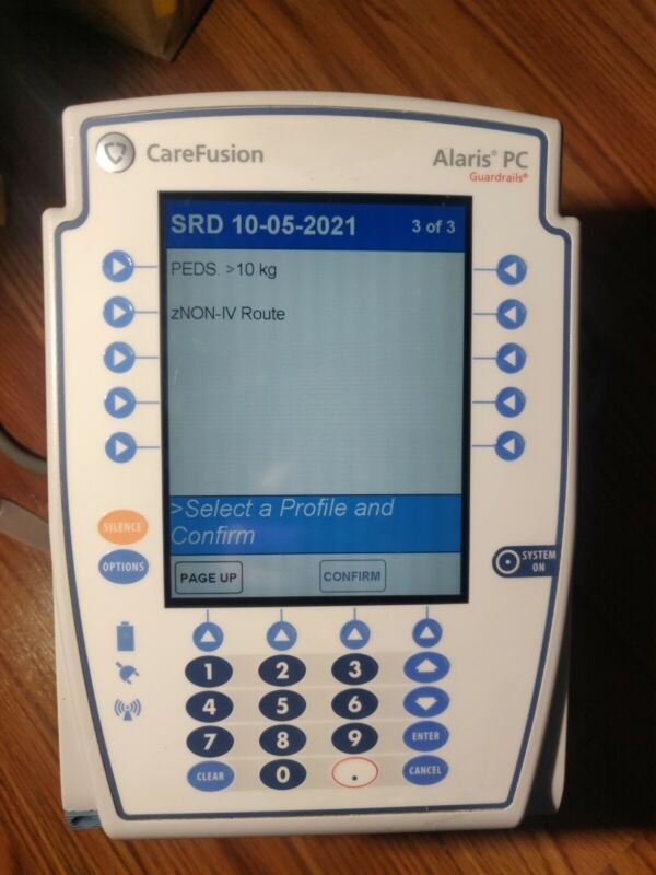 Alaris Carefusion 8015 Infusion Pump with wireless card