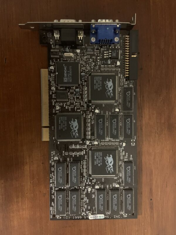 3DFX interactive PCI STB systems video card