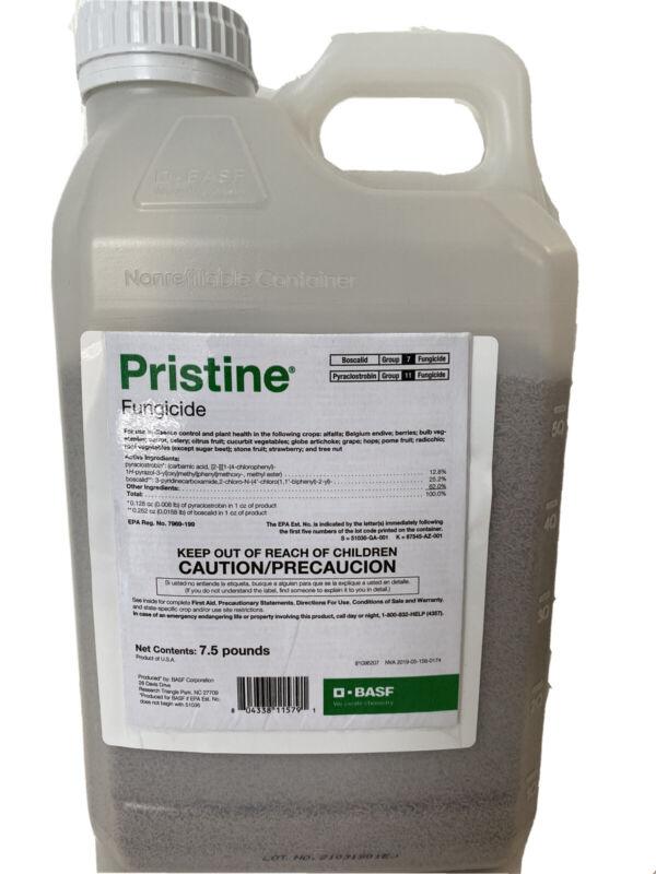 Pristine Fungicide - 7.5 Pounds (Pyraclostrobin 12.8%, Boscalid 25.2%) by BASF
