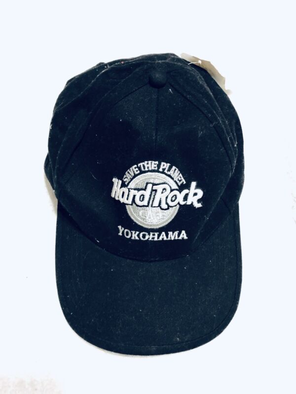 Hard Rock Cafe Yokohama Japan Save the Planet Hat Cap Genuine NEW