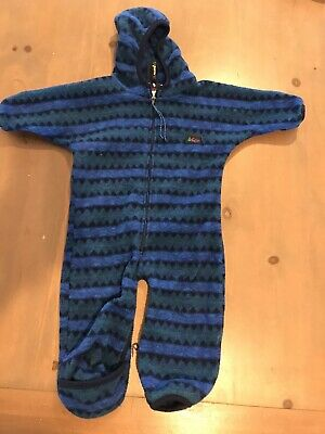 Vintage Infant Bodysuit (Vintage Southwestern REI Infant Toddler Camping Body Suit 18 Month - Made In USA)