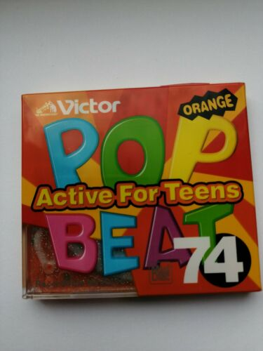 VERY RAR !!!! Minidisc VICTOR POP BEAT Active For Teens ORANGE 74 RARE!!!! NEW!!