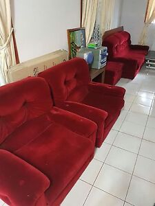 Couch/Lounge and Ottoman for sale Cartwright Liverpool Area Preview
