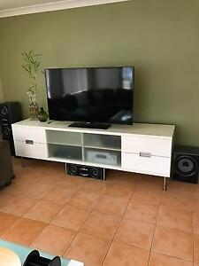 White TV Cabinet Beaumont Hills The Hills District Preview
