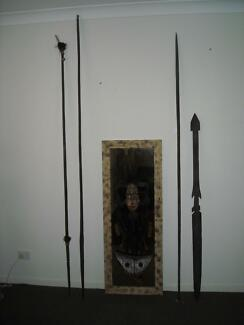 Warrior Hand made Antique Artifacts Forster Great Lakes Area Preview