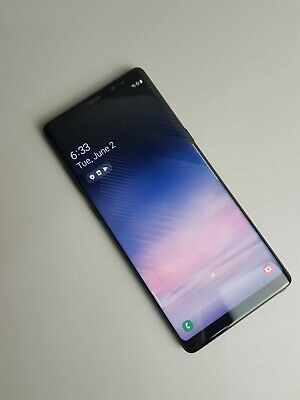 Samsung Galaxy Note8 SM-N950 64GB - Black (Unlocked) *Very Good condition*