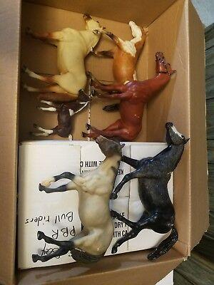 Lot of Breyer model horses