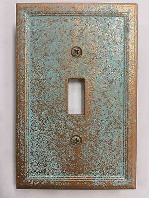 Copper/Patina Light Switch Cover (Custom) for sale  Greencastle