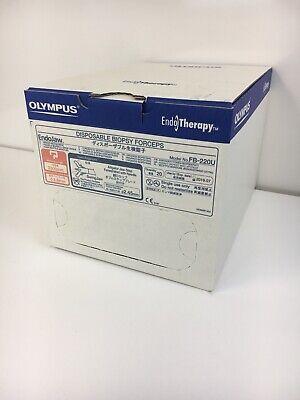 Box Of 20 New Olympus Fb-220u Endojaw Disposable Biopsy Forceps Exp 2019-07