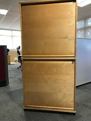 Kinnarps Office Furniture, Storage with Roller doors