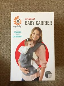 Ergobaby carrier with infant insert cool mesh