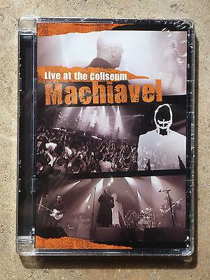 DVD Machiavel Live at the Coliseum  New & sealed . Nouveau & scellé !