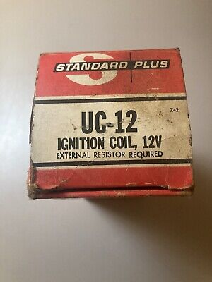 Ignition Coil UC12 Standard Motor Products New Old Stock